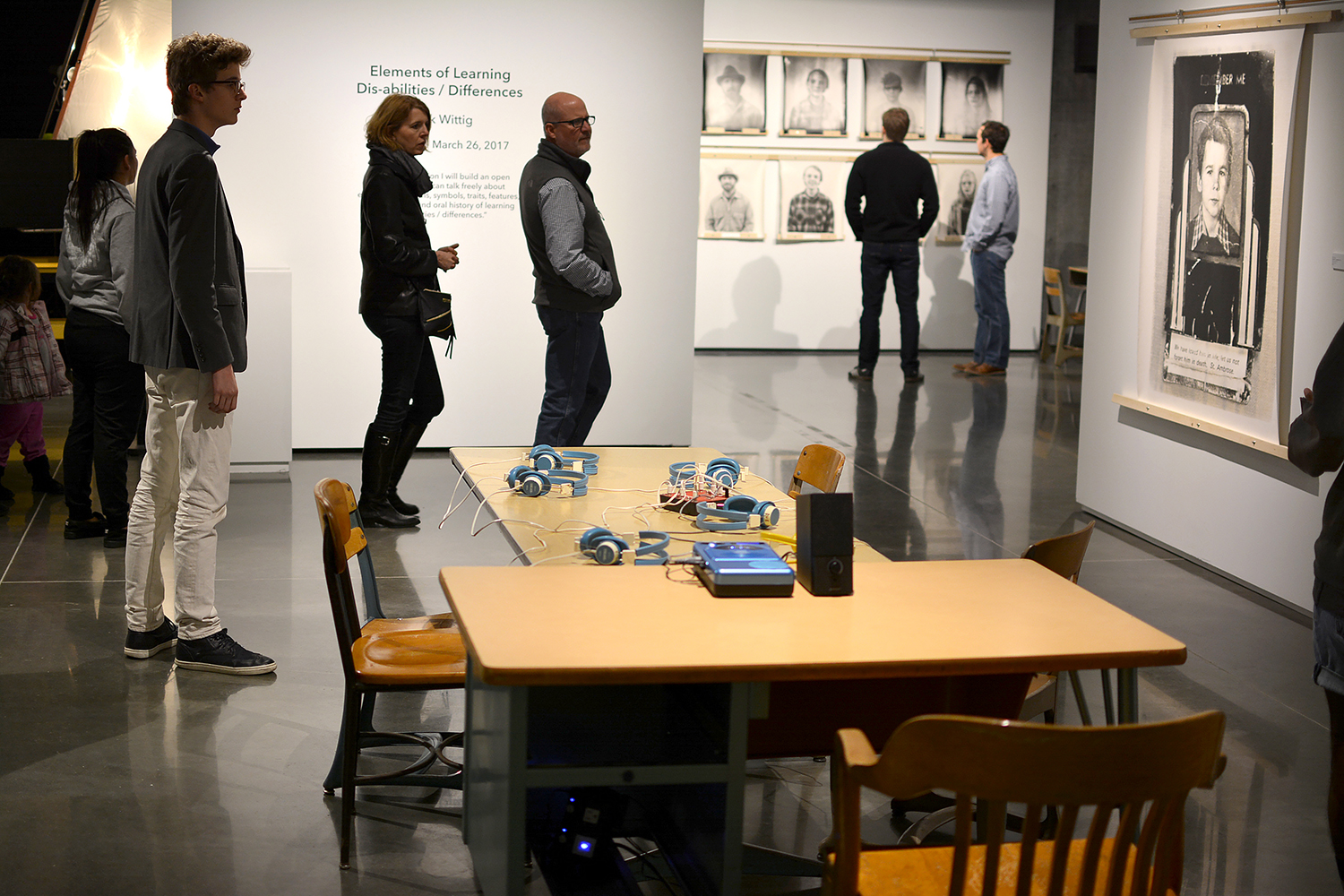 Installation View of Elements of Learning